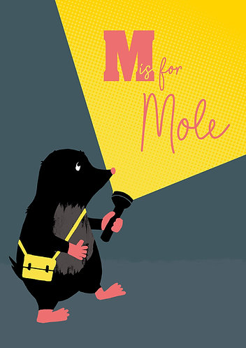 M is for Mole by Madeline Meckiffe