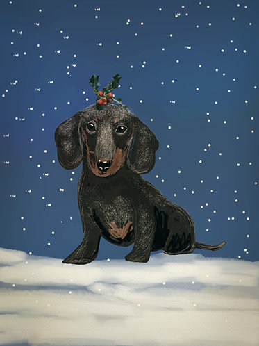 Christmas Pup by Claire Westwood
