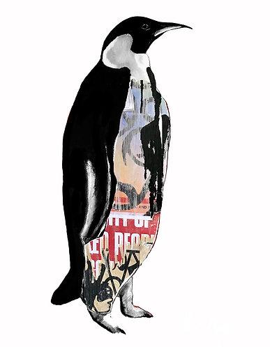 Graffiti Penguin: London by Raph Thomas and Kate Winskill