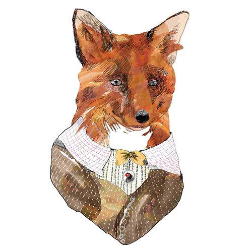 Mr Fox by Jaybird Illustration