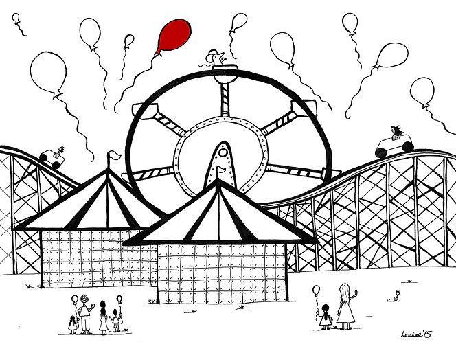 LeeLee Loves - Ferris Wheels by Leeanne Grassnick