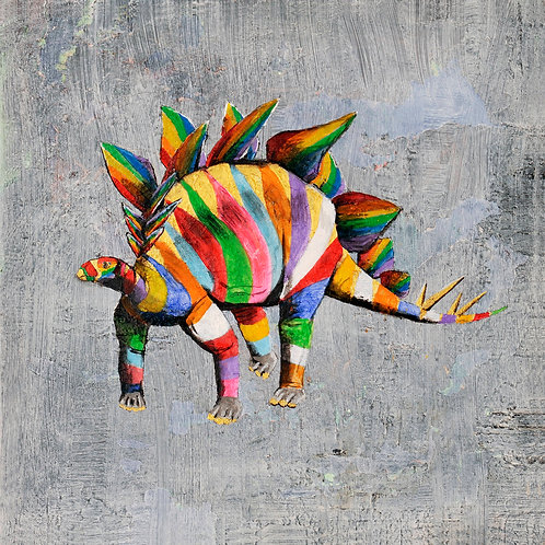 stegosaurus print for children's rooms