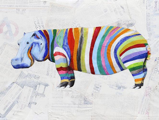 Big Hippo by Raph Thomas