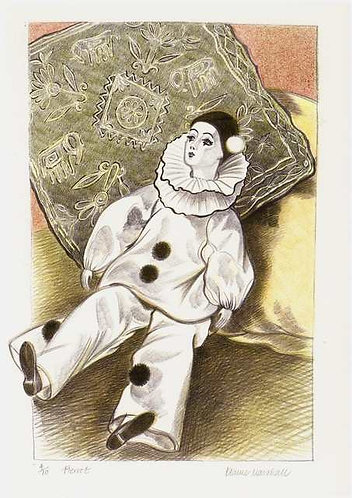 Pierrot by Elaine Marshall