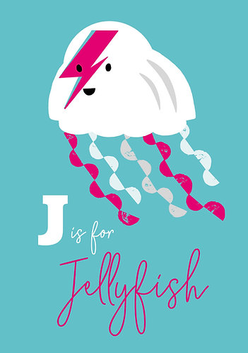 J is for Jellyfish by Madeline Meckiffe
