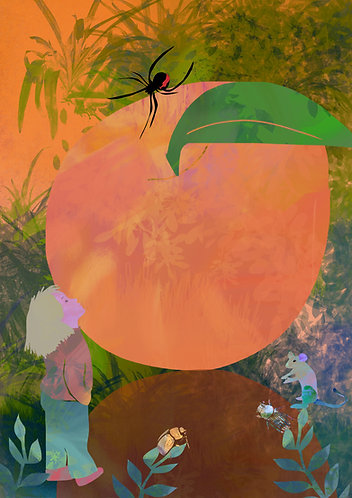 James and the Giant Peach by Claire Westwood