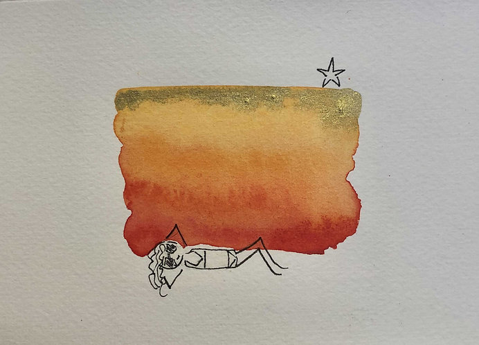 Sun Seeker (unframed) by Emma Thistleton