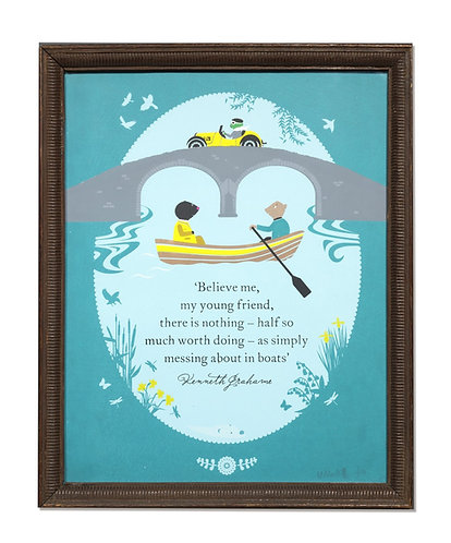 wind in the willows limited edition print
