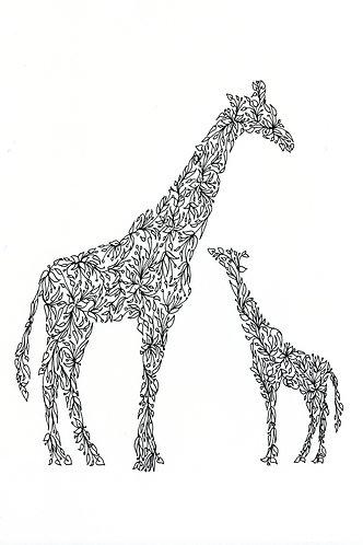 Giraffes by Lynn Selwyn-Reeves