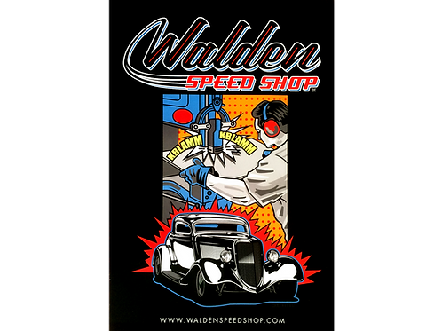WALDEN SPEED SHOP CLASSIC HAMMER TIME POSTER