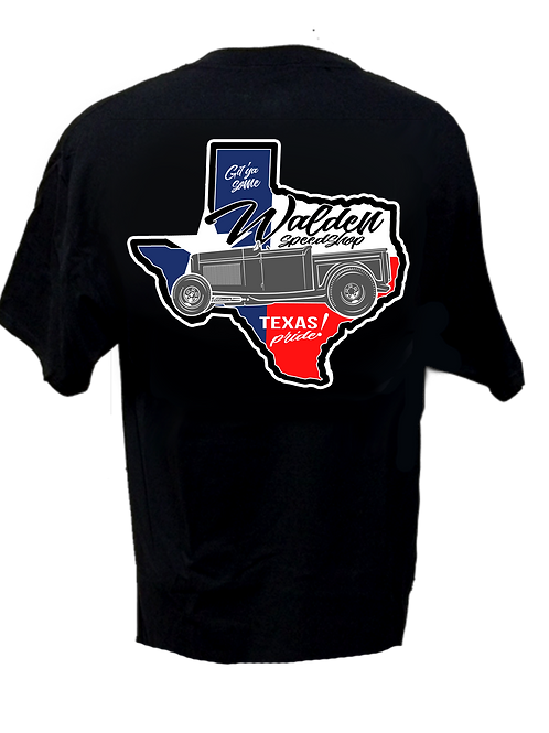 WALDEN SPEED SHOP - Texas Pride Logo