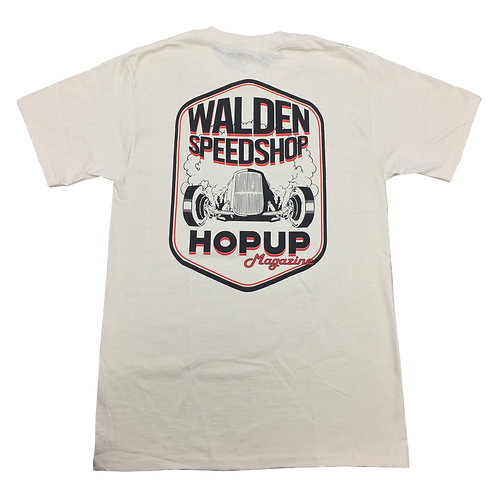 WALDEN SPEED SHOP - HOP UP EXCLUSIVE MENS TEE