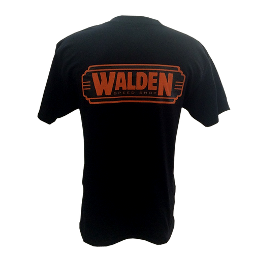 WALDEN SPEED SHOP - CLASSIC LOGO ORANGE