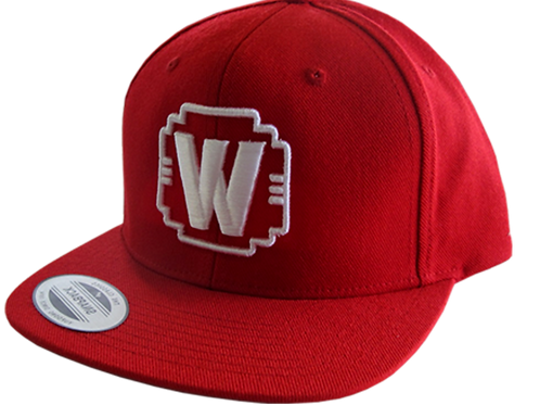 "WALDEN SPEED - ""W"" LOGO HAT RED"