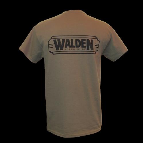 WALDEN SPEED SHOP - CLASSIC LOGO MILITARY GREEN