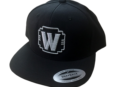 "WALDEN SPEED - ""W"" LOGO HAT SILVER & BLACK"