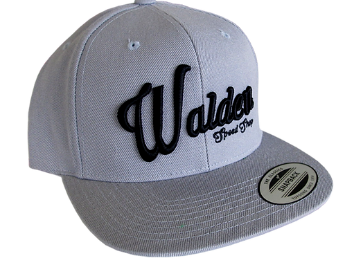 WALDEN SPEED SHOP SCRIPT HAT - LIGHT GRAY