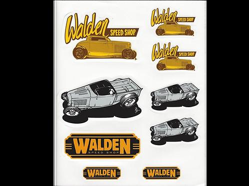 WALDEN SPEED SHOP - STICKER PACK