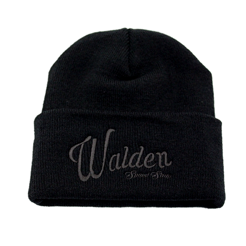 WALDEN SPEED - BEANIE BLACK ON BLACK