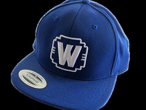 """WALDEN SPEED - """"W"""" LOGO HAT BLUE"""