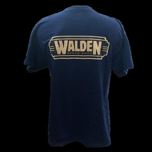 WALDEN SPEED SHOP - CLASSIC LOGO NAVY & TAN