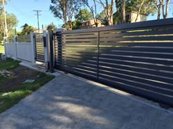 Electric slat gates Newcastle