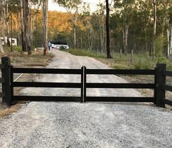 Aluminium rural gate