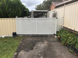 slat sliding gates