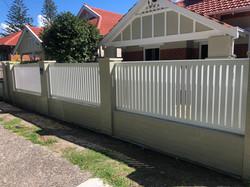 Vertical slat gates