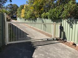 3 mtr wide single swinging gate