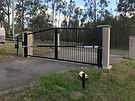 custom gate with automation