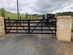 Aluminium rural stlyle gates