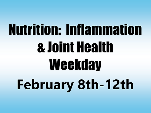 February 8th-12th 2021 Weekday Webinar TBCE Approval #T07-11409