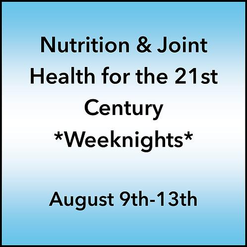 August 9th-13th 2021 Weeknight Webinar TBCE Approval #T07-11858