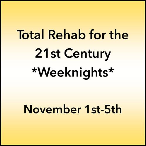 November 1st-5th 2021 Weeknight Webinar TBCE Approval #T07-11848