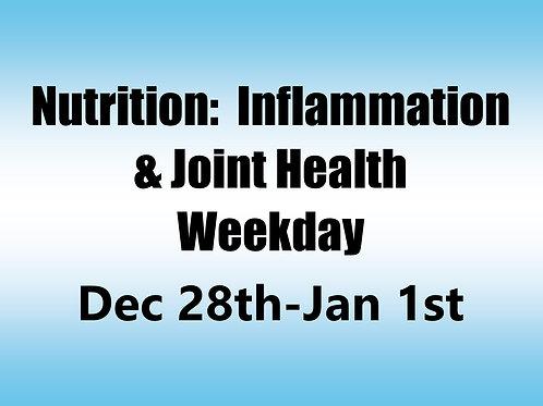 December 28th 2020 - Jan 1st 2021 Weekday Webinar TBCE Approval #T07-10917