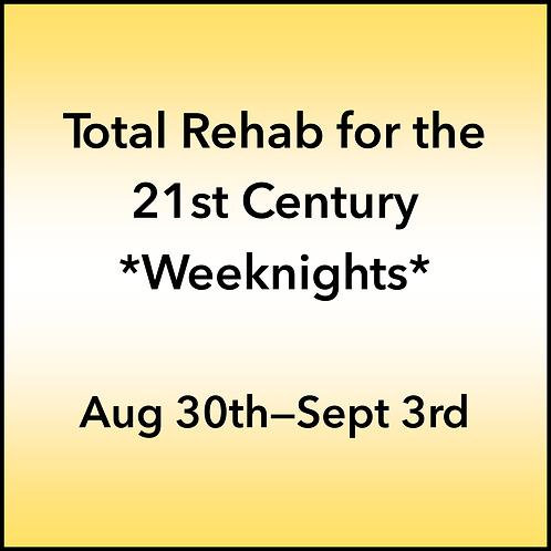 August 30th-September 3rd 2021 Weeknight Webinar TBCE Approval #T07-11842