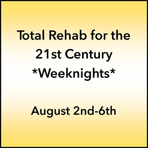 August 2nd-6th 2021 Weeknight Webinar TBCE Approval #T07-11839