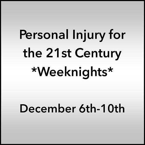 December 6th-10th 2021 Weeknight Webinar TBCE Approval #T07-11913