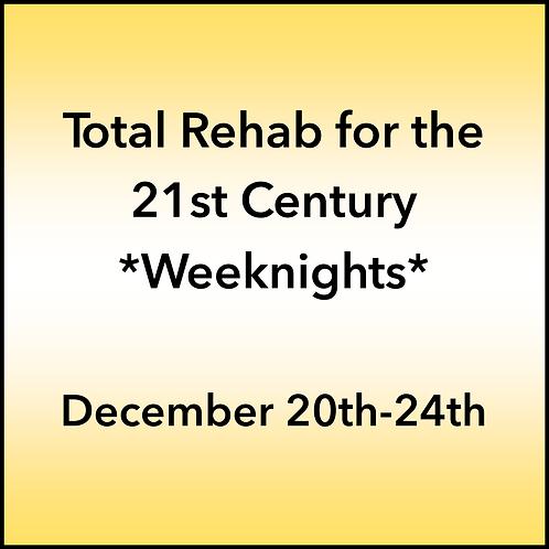 December 20th-24th 2021 Weeknight Webinar TBCE Approval #T07-11853