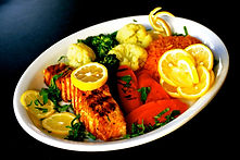 kosher fish plate