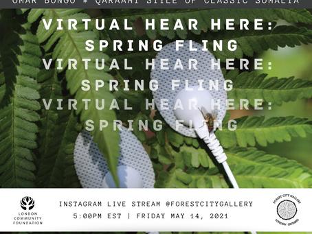 Virtual Hear Here: Spring Fling