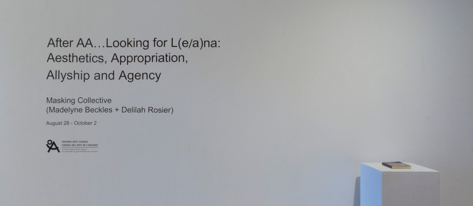 After AA…Looking for L(e/a)na: Aesthetics, Appropriation, Allyship and Agency