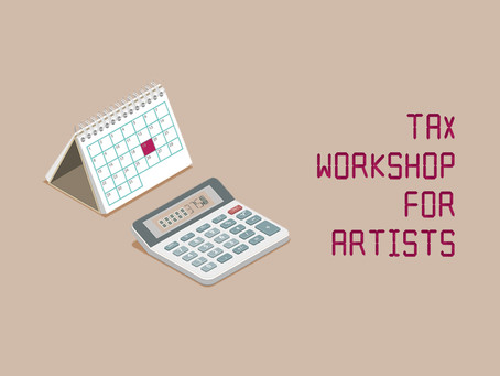 Taxes for Artists!