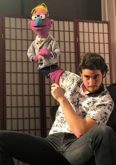 Puppeteering on Kevin's Corner