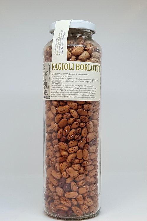 Fagioli Borlotti, peulvruchten/bonen in pot