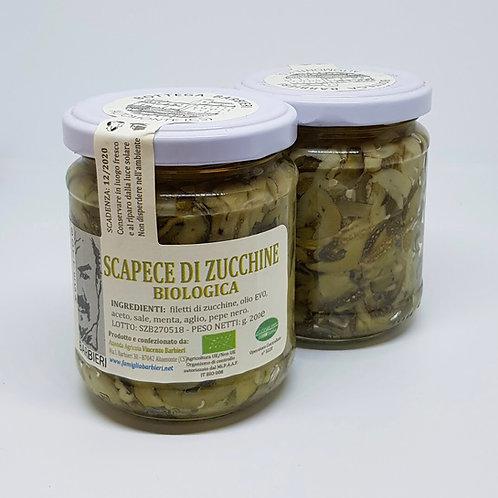 Scapece di zucchine, biologische dungesneden courgette