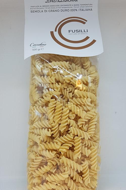 Fusilli, durum tarwe, Cozzolino, ambachtelijke Italiaanse pasta