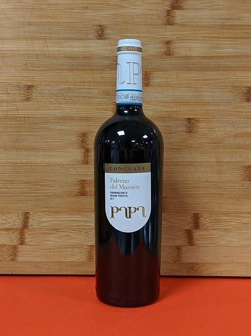 Conclave Falerno del Massico DOP, Papa, rode wijnen