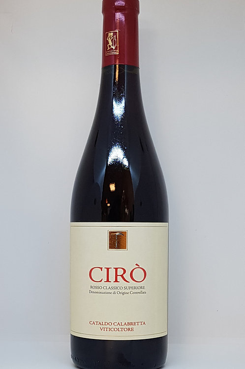 Ciro' Rosso Classico Superiore Riserva 2016 DOC, Cataldo Calabretta